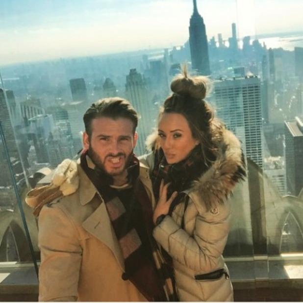 Charlotte Crosby enjoys New York break with on-off boyfriend Mitch Jenkins, 16 January 2015