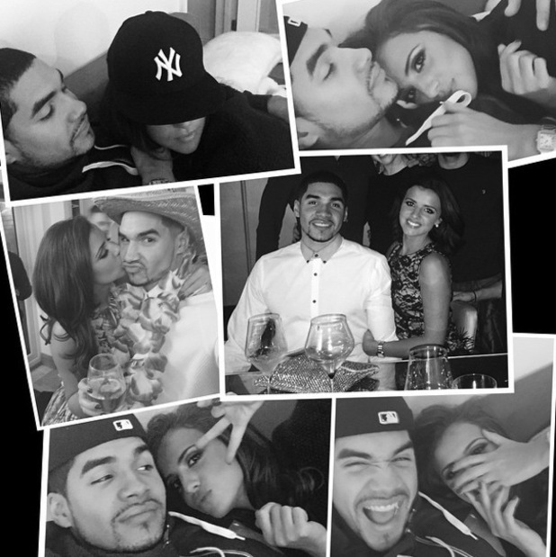 Lucy Mecklenburgh shares collage of herself and boyfriend Louis Smith 10 January