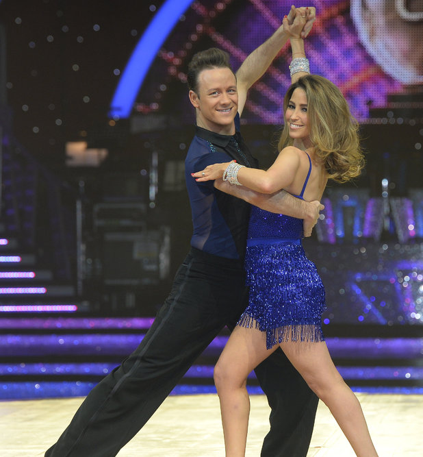Rachel Stevens and Kevin Clifton on Strictly tour, Birmingham 15 January