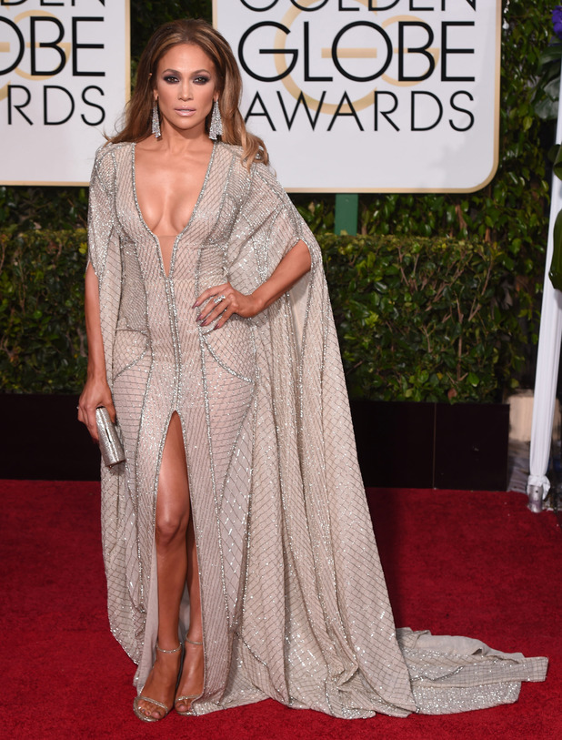 "Jennifer Lopez, 72nd Annual Golden Globe Awards, Arrivals, Los Angeles, America â€"" 11 Jan 2015"