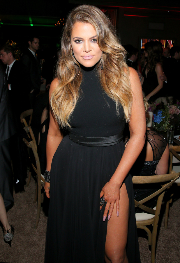 Khloe Kardashian attends the E! Golden Globes after-party in Los Angeles - 11 January 2015