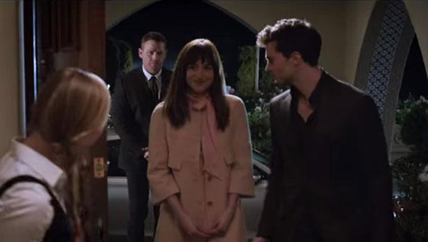 Fifty Shades of Grey new trailer: Jamie Dornan as Christian Grey and Dakota Johnson as Ana Steele.