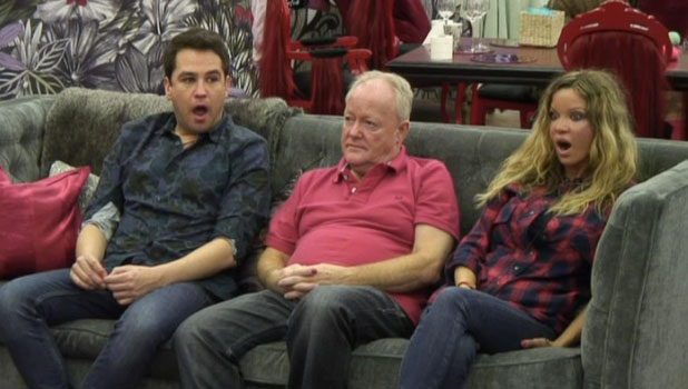CBB: Housemates learn of Ken Morley's exit, 13 January 2014
