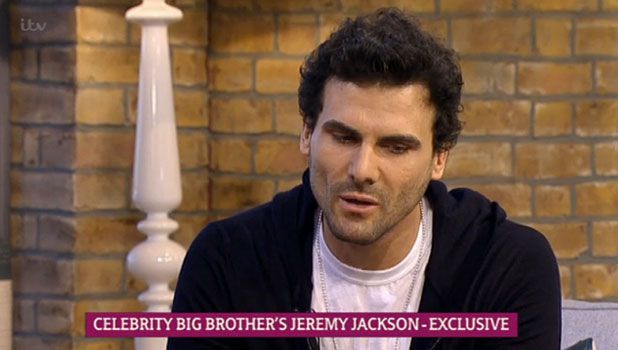 Jeremy Jackson talks about Ken Morley's CBB exit on This Morning, 13 January 2015