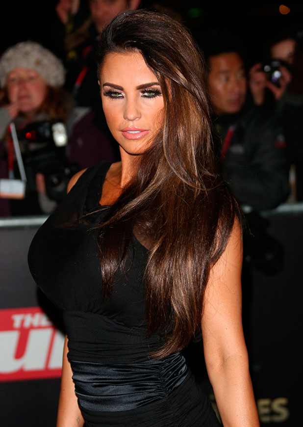 Katie Price. Night of Heroes: The Sun Military Awards 2012 held at the Imperial War Museum - Arrivals, 2012