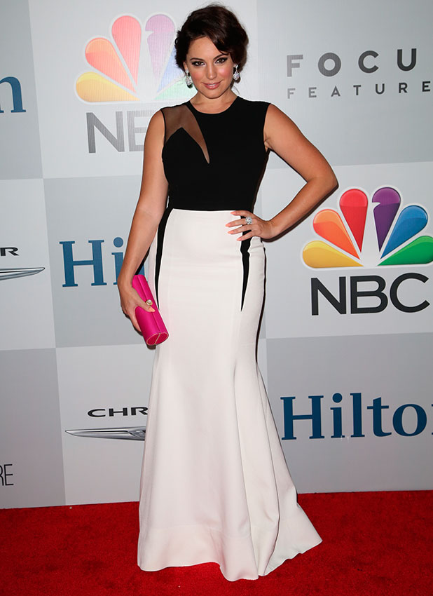 Kelly Brook attends NBC/Universal's 72nd Annual Golden Globes After Party - Arrivals sponsored in part by Chrysler, Hilton, and Qatar at The Beverly Hilton Hotel in Beverly Hills, 11 January 2015