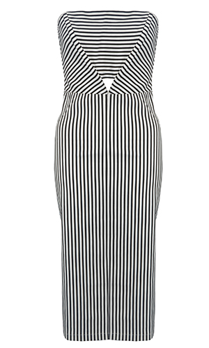 Rarelondon.com stripe dress