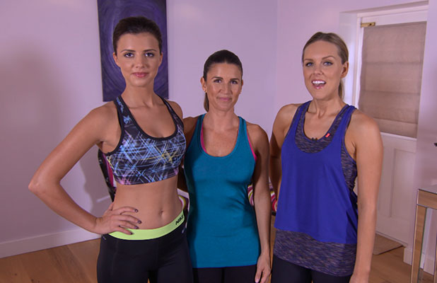 Lucy Mecklenburgh in The Cosmo Body Show
