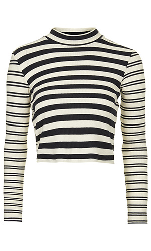 Topshop stripe top