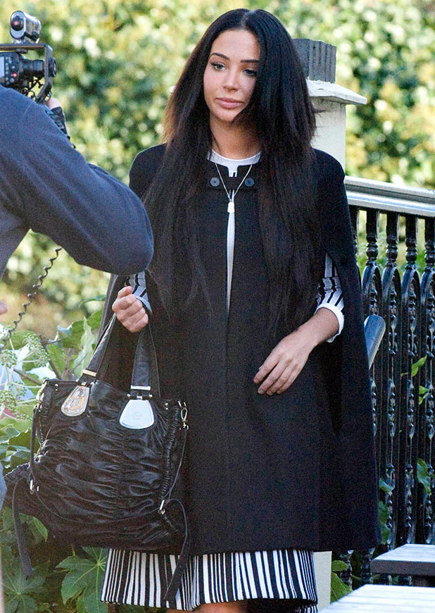 Tulisa Contostavlos at Snaresbrook Crown Court, London, Britain - 14 Jan 2015