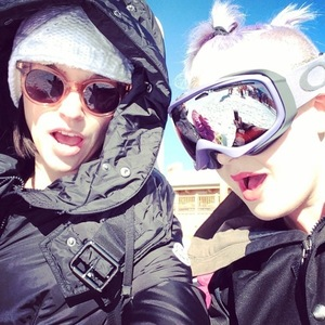 Jack and Lisa Osbourne enjoy a holiday in Las Vegas and skiing - 23 Jan 2015