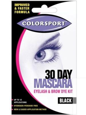 Colorsport 30 Day Mascara Black Eyelash & Brow Dye Kit