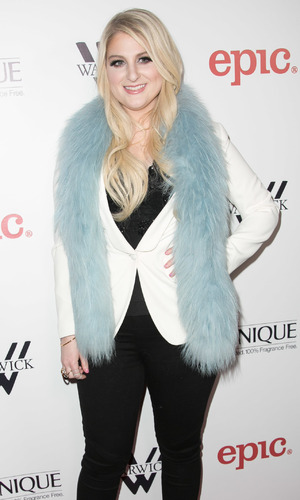Meghan Trainor attends her debut album release party at The Warwick in Hollywood, LA 13 January