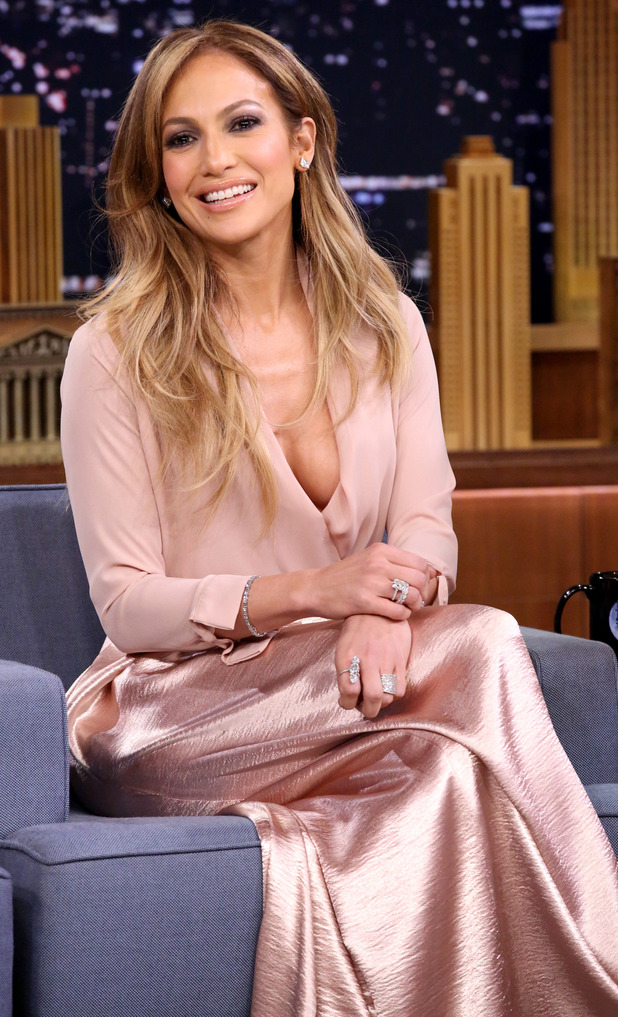 Jennifer Lopez appears on The Tonight Show Starring Jimmy Fallon in New York - 19 January 2015
