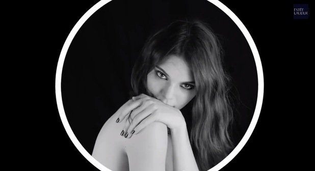 Kendall Jenner's advert for Estée Lauder's new Little Black Primer - 22 January 2015