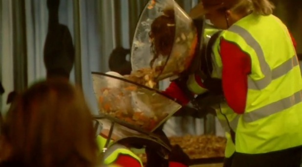 CBB cadet task - housemates clear rubbish, Channel 5 18 January
