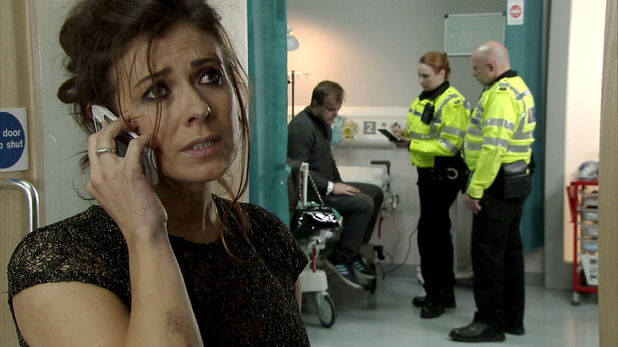 Corrie, Michelle supports Steve, Wed 21 Jan