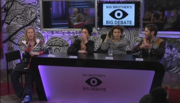 Katie Hopkins, Nadia Sawalha, Perez Hilton come to blows during Big Brother's Big Debate, CBB, Channel 5 22 January