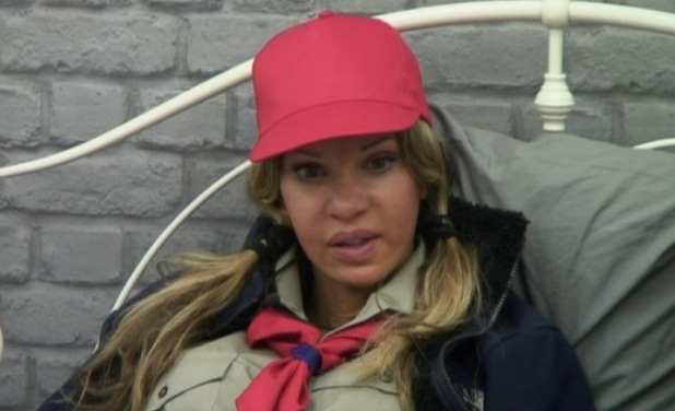 Katie Price talks to Alicia Douvall about her money troubles - 19 Jan 2015