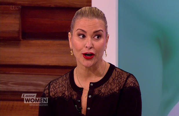 Anastacia appears on Loose Women, ITV 23 January