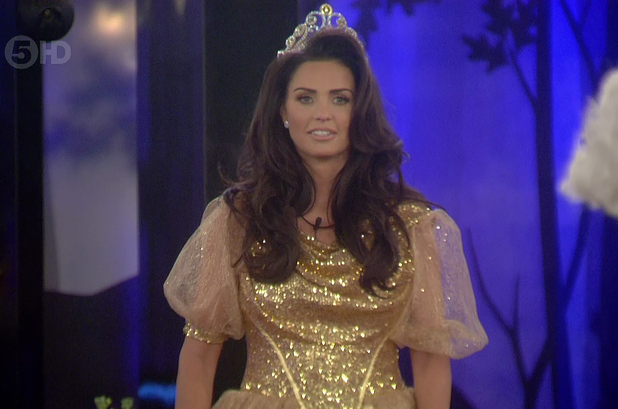 Katie Price arrives as the new housemate on 'Celebrity Big Brother'. Broadcast on Channel 5 HD. 01/17/2015.