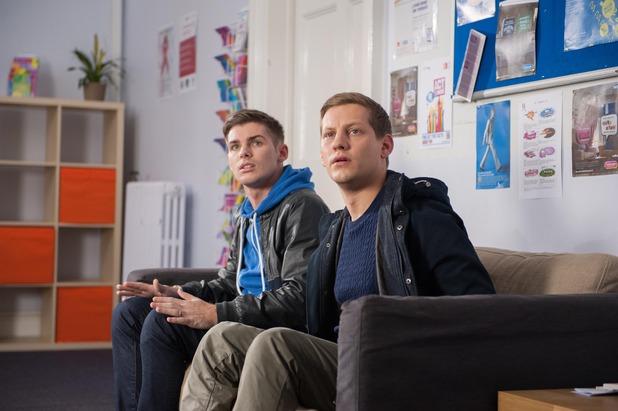 Hollyoaks, Ste is HIV, Wed 21Jan