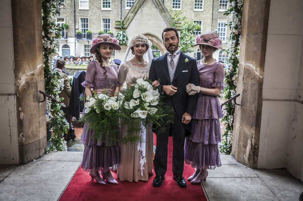 Mr Selfridge, Harry, Rosalie and Violette, Sun 25 Jan