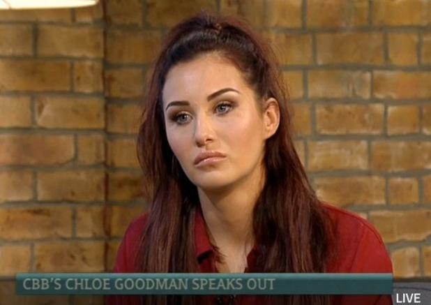 CBB: Chloe Goodman appearing on This Morning - 19/1/2015.