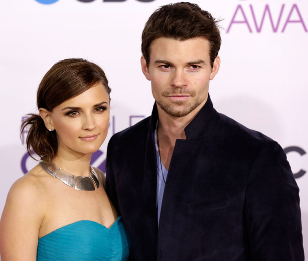 Rachael Leigh Cook and Daniel Gillies at the 39th Annual People's Choice Awards at Nokia Theatre L.A. Live - Arrivals 01/08/2013 Los Angeles, California, United States