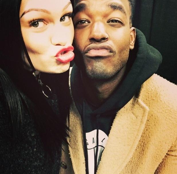 Jessie J shares selfie with boyfriend Luke James December 2014