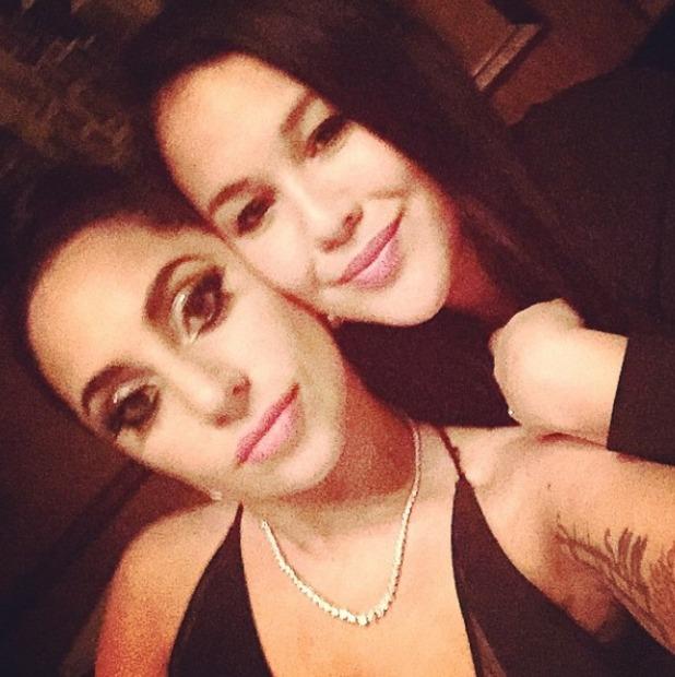 Lady Gaga and her friend Ari on Ari's hen weekend, Jan 2015.