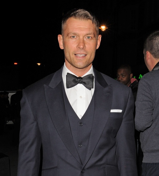 John Partridge sighting at Attitude Awards on October 16, 2012 in London, England.