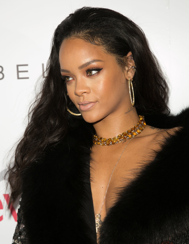 Rihanna attends The Daily Front Row Fashion Awards in Los Angeles, America - 22 January 2015