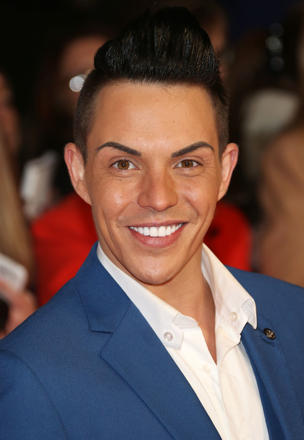 Bobby Norris at the National Television Awards, O2, London, 21 jAN 2015