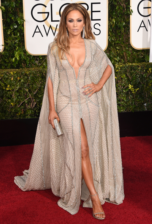 Jennifer Lopez attends the 72nd annual Golden Globes in Los Angeles, America - 11 January 2015