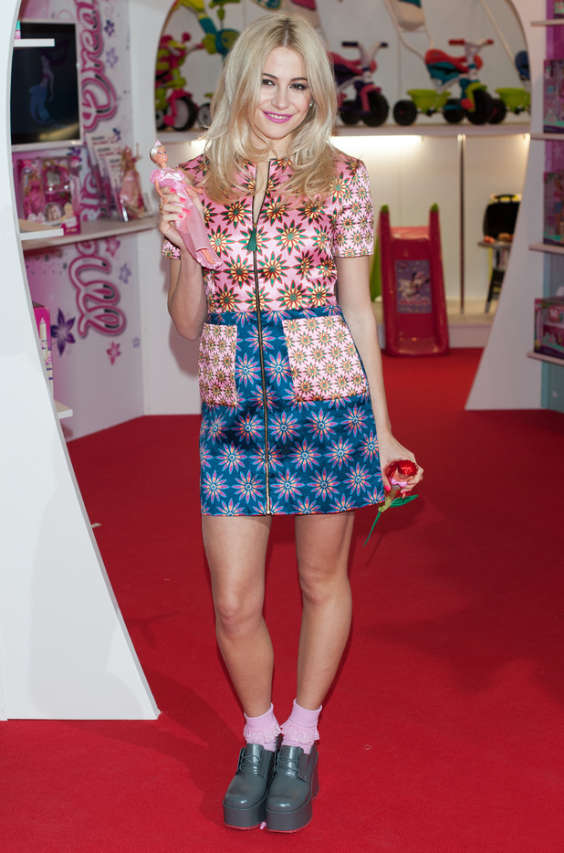 Pixie Lott launches her new collection of Steffi dolls at the London Toy Fair, held at the Olympia - 20 January 2015