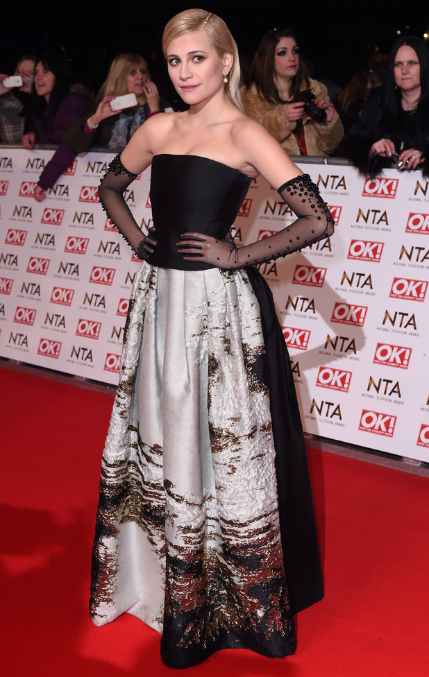 Pixie Lott, National Television Awards, The O2, London, Britain - 21 Jan 2015
