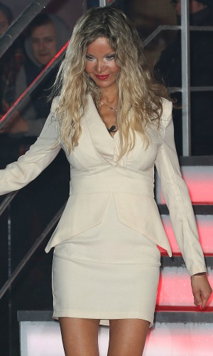 Alicia Douvall is the second housemate evicted from 'Celebrity Big Brother 15' 23 January 2015