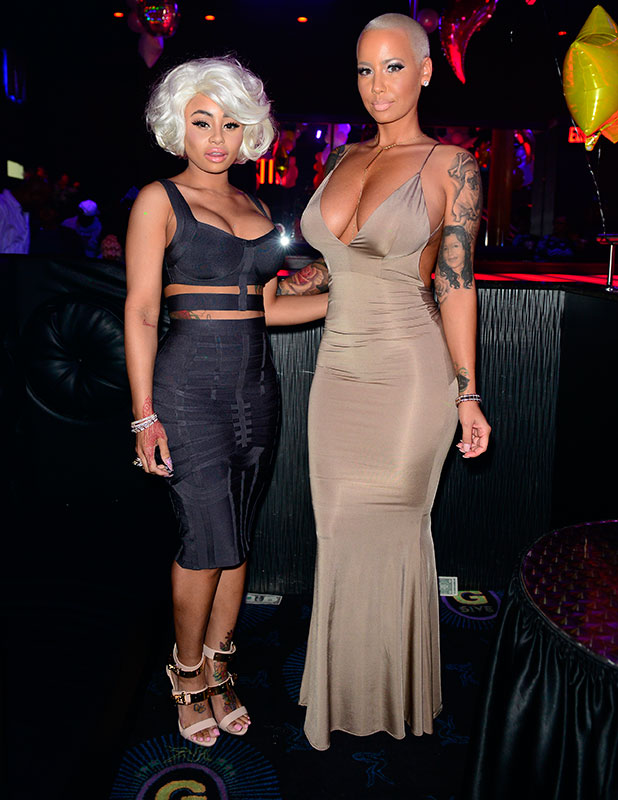 Amber Rose and Blac Chyna host Diva Fridays at G5ive Lounge, 16 January 2015