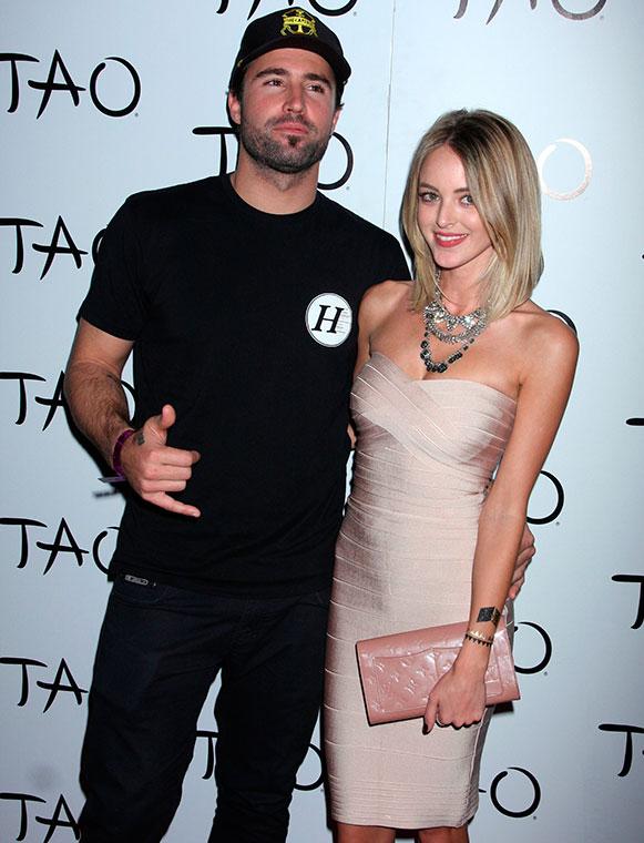 Brody Jenner and Kaitlynn Carter DJs at TAO Nightclub inside The Venetian Resort Hotel Casino, 16 January 2015.
