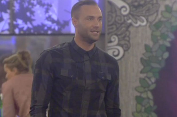 Calum Best reacts to Katie Price nominating him, 21 January 2015