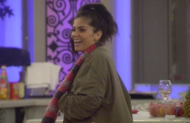 CBB: Cami Li after walking in on Kavana at the toilet, 19 January 2015