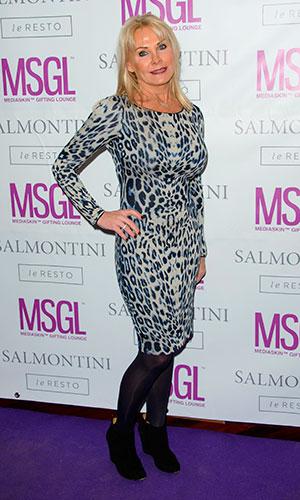Carol Wright, MediaSkin Gifting Lounge at Salmontini, 19 January 2015