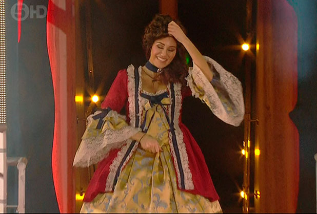 Chloe Goodman is the first celebrity to be voted out of the house on 'Celebrity Big Brother - Live Eviction', Shown on Channel 5 HD, 16 January 2015