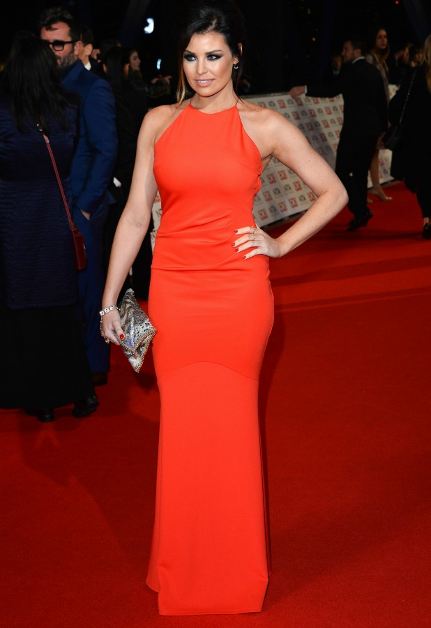 Jessica Wright at National Television Awards, The O2, London, Britain - 21 Jan 2015