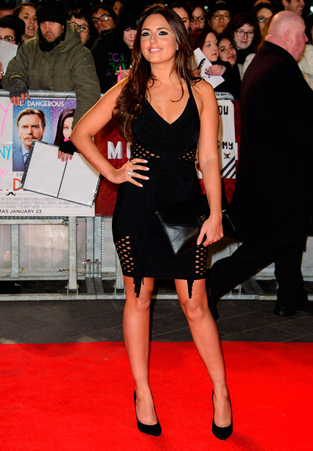 Nadia Forde at the UK premiere of 'Mortdecai' held at the Empire Leicester Square, 19 January 2015