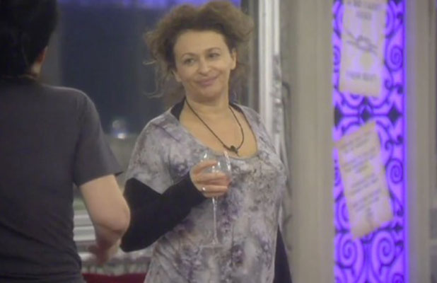CBB: Nadia Sawalha says she wants to go home but nobody will leave while Perez Hilton is in the house, 18 January 2015
