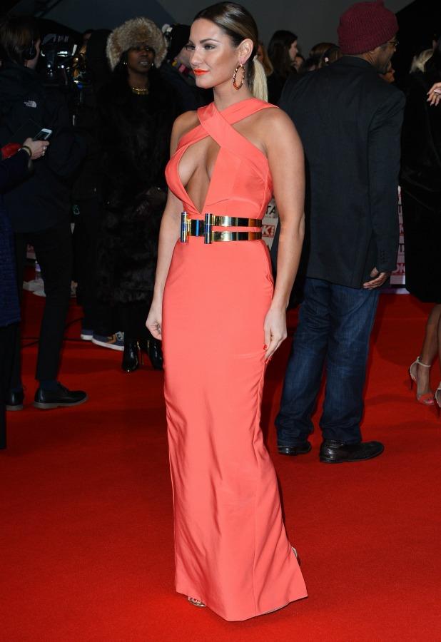National Television Awards, The O2, London, Britain - 21 Jan 2015 Sam Faiers