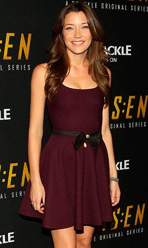"Sarah Roemer, Crackle's Season 2 Premiere Of Original Digital Series ""Chosen"", 2014"
