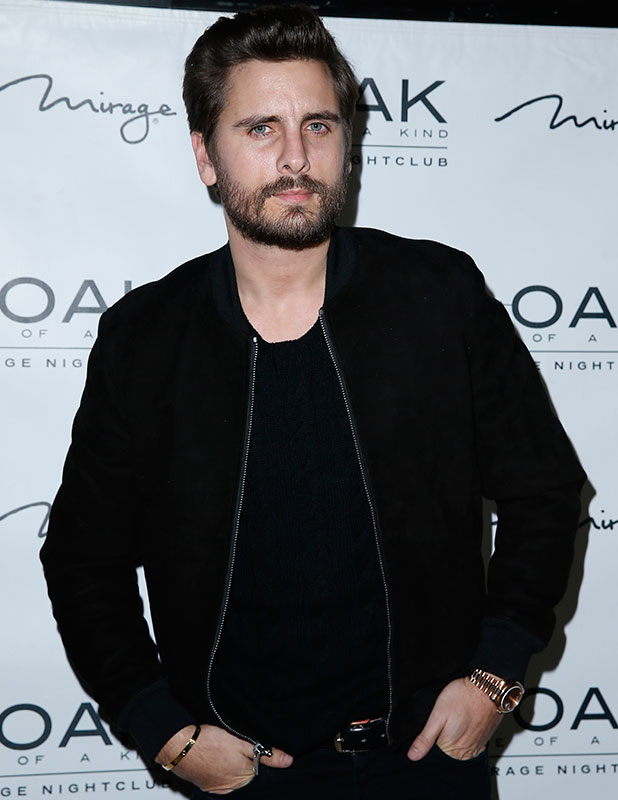 Scott Disick hosts an evening at 1Oak Nightclub, 18 January 2015
